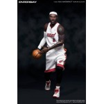 ENTERBAY x MiVi : 1/6 NBA Collection - Cavaliers/Miami Heat LeBron James (Limited Edition-199PCS, Taiwan Ver.)
