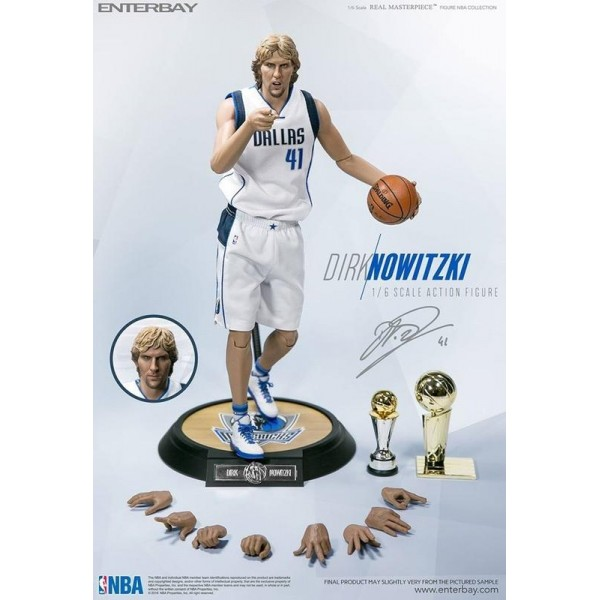 ENTERBAY :1/6 NBA Collection – Dirk Nowitzki Action Figure