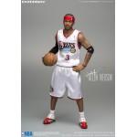 ENTERBAY : (雙素體版) 1/6 NBA系列 七六人隊 Allen Iverson 艾倫·艾佛森 (升級限量版)