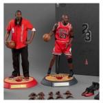 ENTERBAY : 1/6 - NBA COLLECTION MICHAEL JORDAN ACTION FIGURE- AWAY (FINAL LIMITED EDITION)