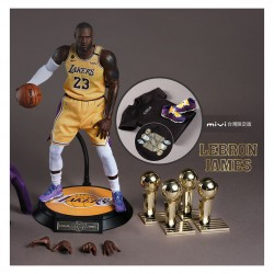 ENTERBAY x MiVi :1/6 NBA Lakers LeBron James