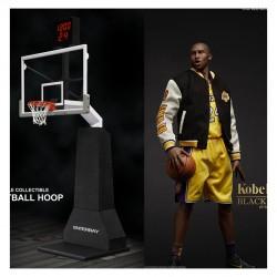 (合售方案) ENTERBAY: 1/6 湖人隊 Kobe Bryant 柯比•布萊恩4.0+1/6 NBA 籃球架