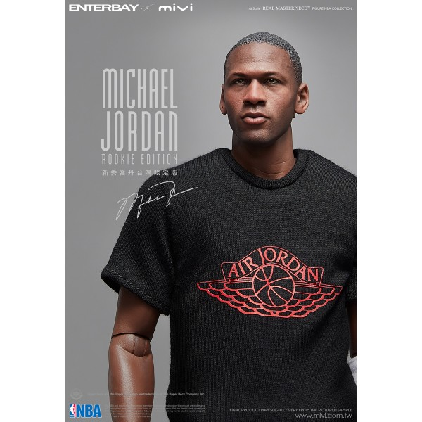 ENTERBAY x MiVi : 1/6 NBA Michael Jordan (Rookie) Limited Edition- 500pcs (Taiwan Exclusive Ver.)